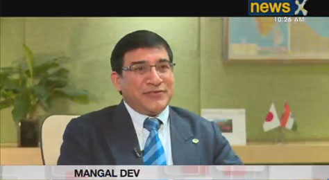 NewsX interview with Head of Hitachi Railway Systems BU