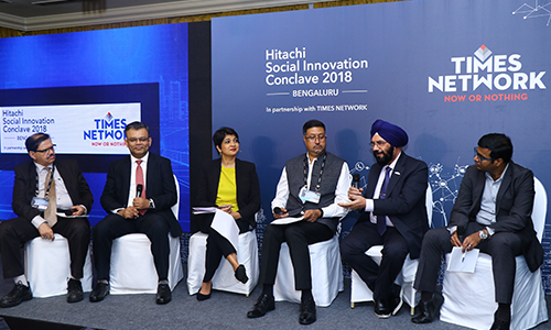 Hitachi Social Innovation Conclave 2018, Bengaluru