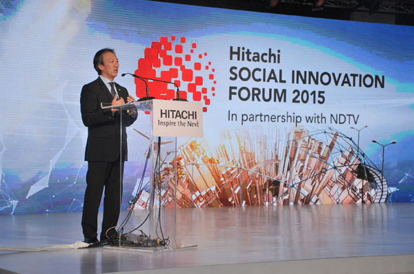Address by Mr. Kojin Nakakita, Managing Director, Hitachi India Pvt. Ltd.