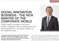 Social Innovation Business - The new mantra of the corporate world